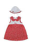 Летнее платье и панамка для девочки