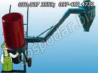 Измельчитель соломы и сена роторная дробилка соломы и сена 15 кВт, соломорезка - 1000кг/час