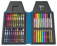 Набор карандашей и фломастеров от Crayola   в пенале