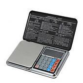 Весы цифровые мультифункциональные 6 в 1 Digital Pocket Scale Precision DP-01 (±0.1 г / 1000 г)