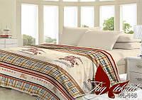 Плед на кровать, плед покрывало, (микрофибра), VL145