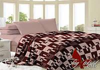 Плед на кровать,плед покрывало, VL117