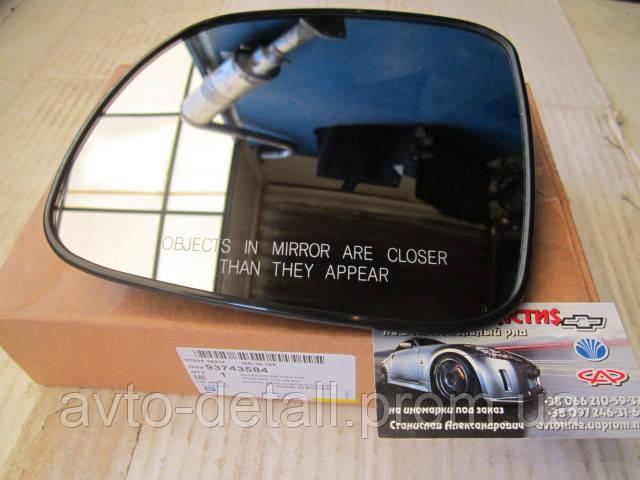 Стекло зеркала левого (с подогревом) Каптива GM
