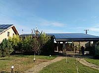 Сетевая солнечная электростанция 10кВт Jinko Solar&SMA