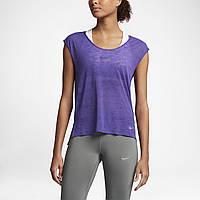 Женская футболка NIKE brthe top cool (831784-540), фото 1