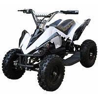 Квадроцикл электрический Fast V 8 black-white HB-6 EATV 800-2-11