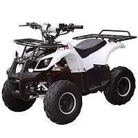 Квадроцикл детский электрический Хаммер 1000 Ватт белый HB-EATV 1000D-1