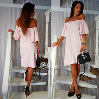 Платье.Ткань - летняя костюмка. Размер 42-46.(21324)