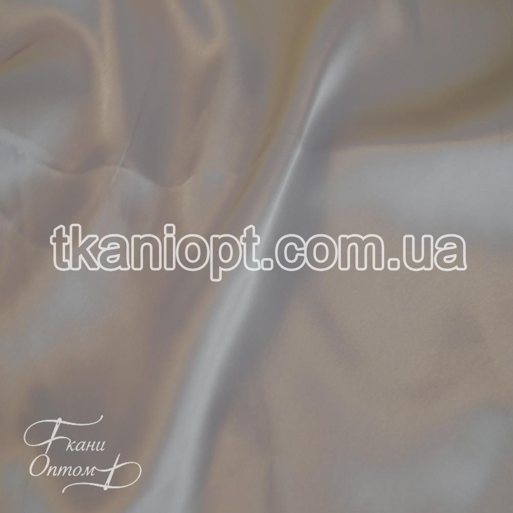 Ткань Атлас обычный светло-серый оптом (65 gsm)