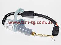 Электромагнитный отсекатель ТНВД, глушилка 5295567, 4942879, 5292297 на двигатель Cummins 8.3