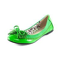 Балетки женские Vivien Q2-133TB зеленые