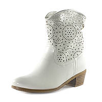 Ботинки демисез женск Rima F4-317В6 белые