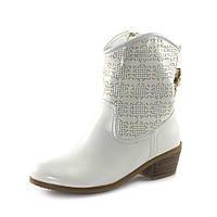 Ботинки демисез женск Rima F4-161В6 белые