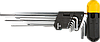 Набор ключей шестигранных TOPEX HEX 9шт (35D962)