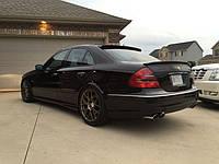 Спойлер сабля тюнинг Mercedes W211 стиль Lorinser