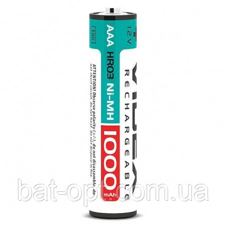 Аккумулятор Videx R3 AAA 1000mAh Ni-MH минипальчиковый