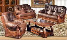 """Кожаный диван с креслом """"Барон 4090""""  (3+1), фото 2"""