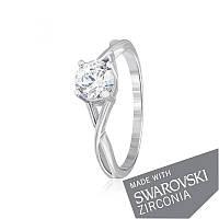 Серебряное кольцо с цирконием SWAROVSKI ZIRCONIA К2С/862 - 15,9