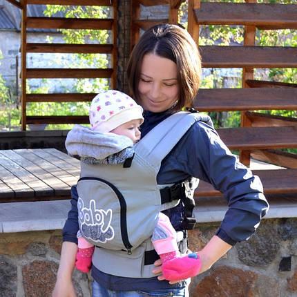 Эргономичный рюкзак Baby (хлопок), фото 2