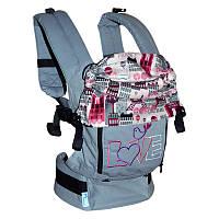 Эргономичный рюкзак Париж (хлопок)