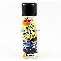 Turtle Wax Fresh Shine Полироль для пластика ваниль 500 мл