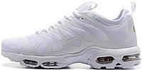 Женские кроссовки Nike TN Air Max Plus Triple White AJ2029-100