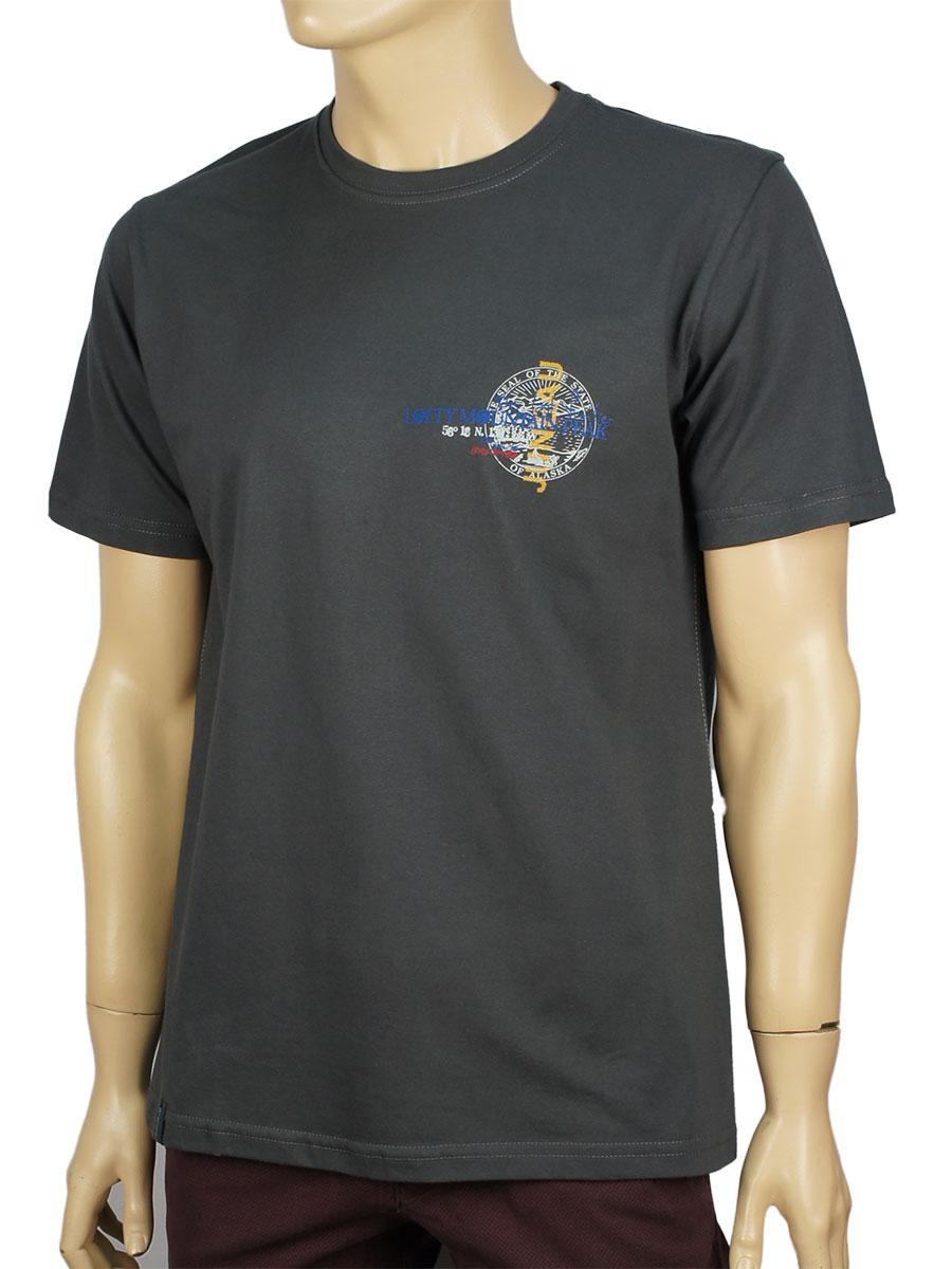 Чоловіча футболка Imako M:AMADEUSZ темно-сіра