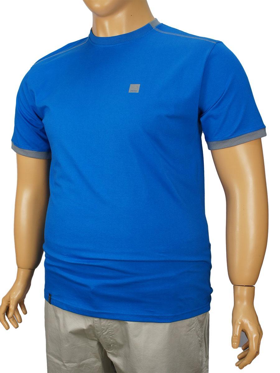 Чоловіча футболка Imako M:ACHILLES B синя великого розміру