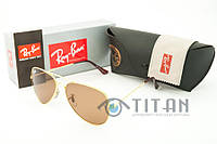 Очки солнцезащитные Ray Ban Aviator 3025 Lange Metall 001/51