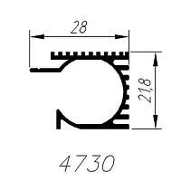 АЛЮМИНИЕВЫЙ ПРОФИЛЬ ALTINEL НАТУРАЛЬНЫЙ L=6М (4730)