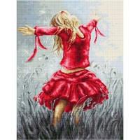 B558 Танец в поле. Luca-S. Набор для вышивания нитками