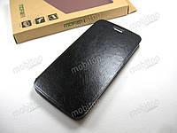 Кожаный чехол книжка MOFI Motorola Moto G5 Plus (черный)
