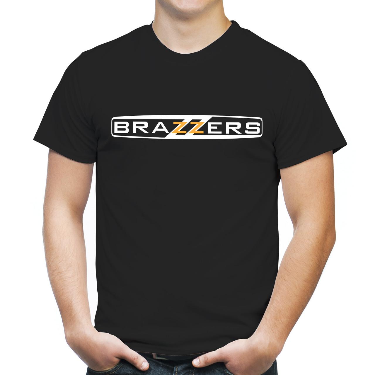 "Мужская футболка ""Brazzers"""