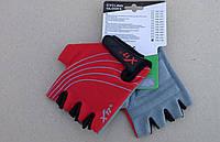 Перчатки X17 XGL-118RDD детские  красно-чёрные М