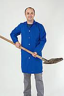 Спец одежда халат мужской синий