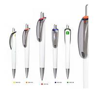 Ручки пластикові Rome від ToTobi під нанесення вашого логотипу, 6 кольорів