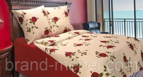 Комплект постели двухспальный, поликоттон