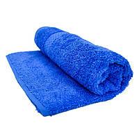 Полотенце махровое 40х70см синее