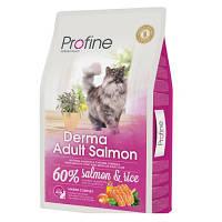 Profine (Профайн) Cat Derma сухой корм для длинношерстных кошек, 2 кг
