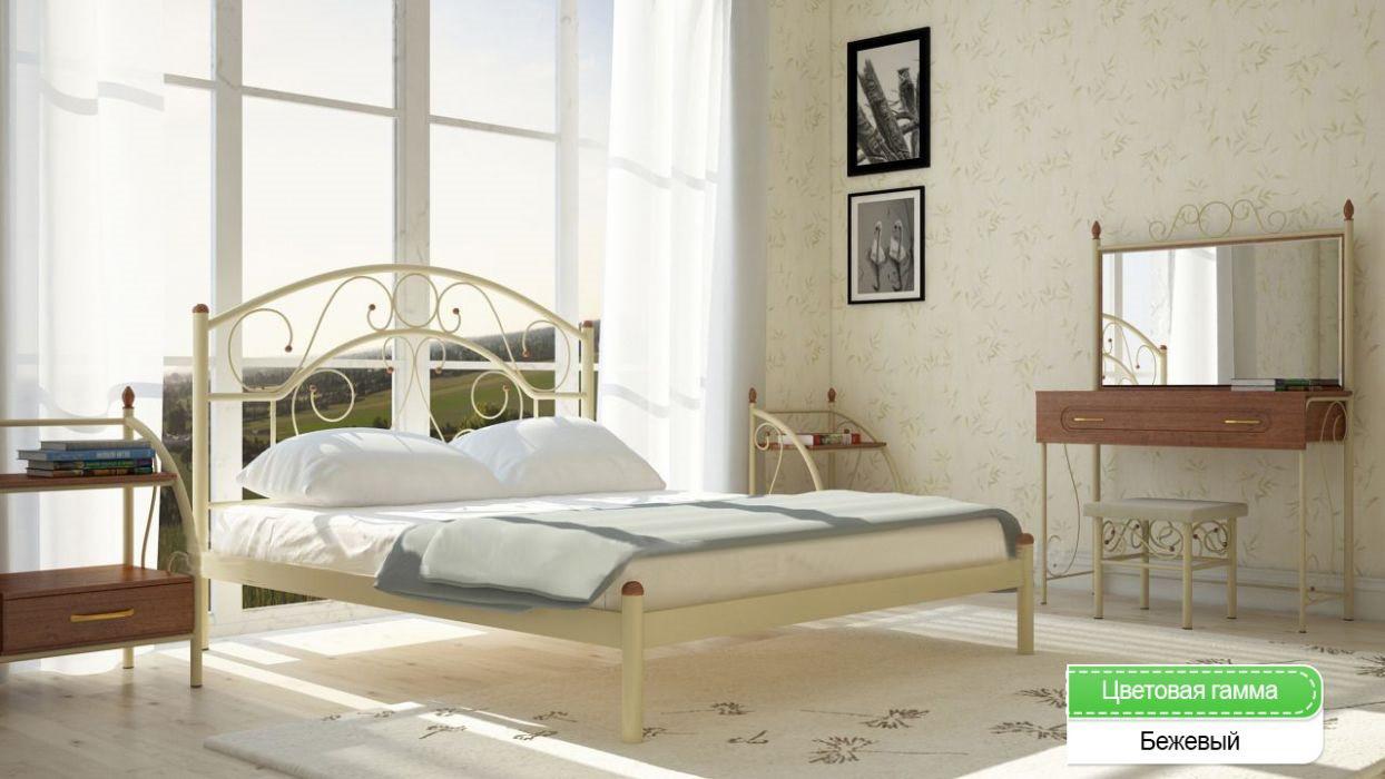 """Ліжко 120 """"Скарлет"""" Метал-дизайн"""