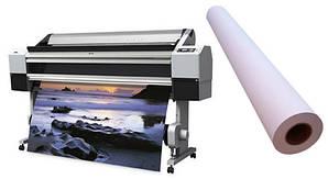 Самоклеящаяся полипропиленовая фотобумага для струйных принтеров, глянцевая, 150 г/м2, 1070 мм х 30 м