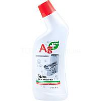 Ag+ Гель для чистки туалета 750мл