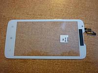 Тач панель для Lenovo A680 белый с окном для камеры