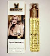 Женский мини-парфюм с феромонами 45 мл Dolce & Gabbana The One