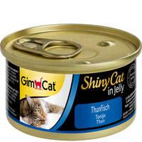 Gimpet ShinyCat с тунцом 70 гр.