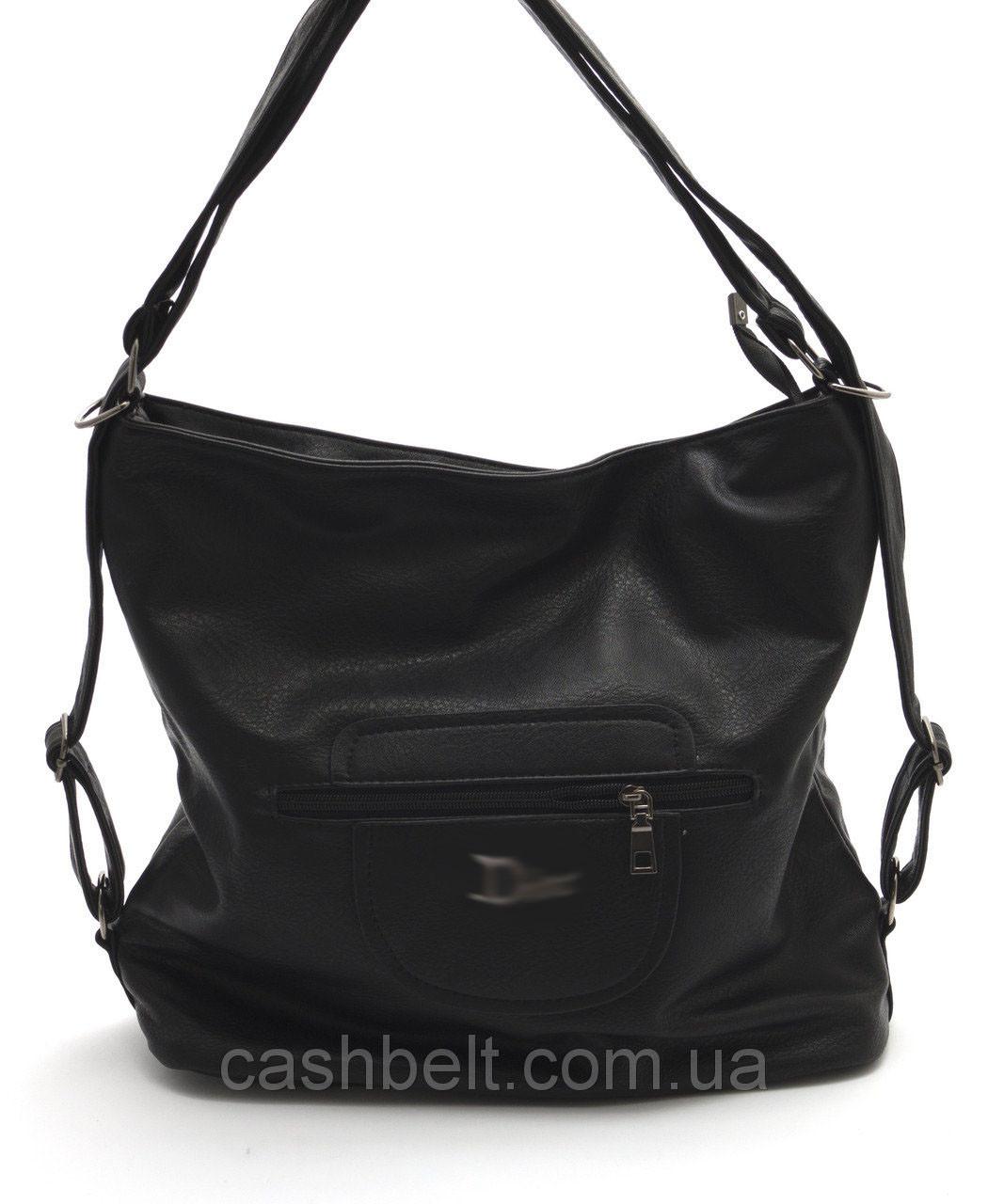 Большая женская сумка-рюкзак мешком Б/Н art. 81038