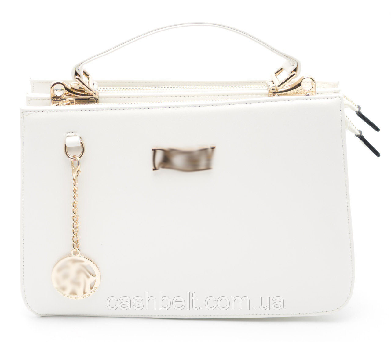 Стильная белая женская сумка DKNY art. 7099
