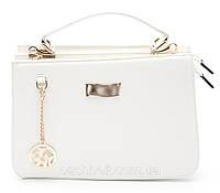 Стильная белая женская сумка DKNY art. 7099, фото 1