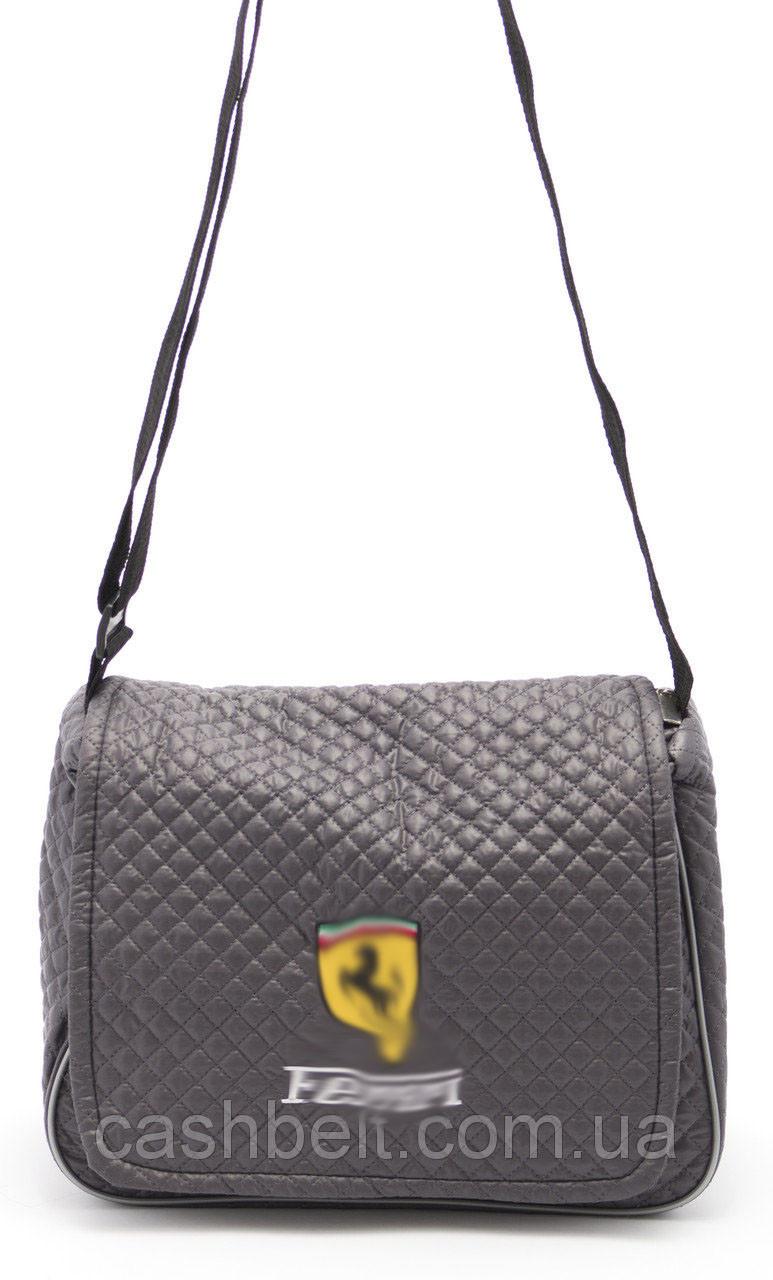Спортивная стеганая женская сумка Б/Н art. ПП Украина