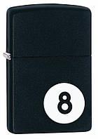 Зажигалка Zippo 28432 8-Ball Lighter черная 28432, фото 1